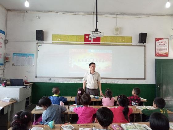 平昌县得胜小开展禁毒教育主题活动